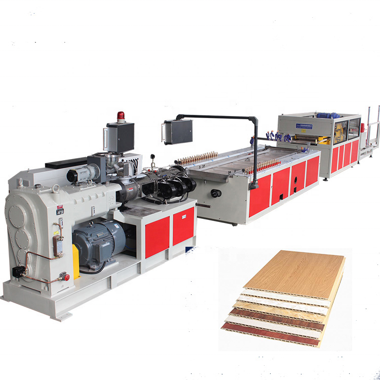 WPC Extrusie Machine/PVC Wandpaneel Productielijn/WPC Profiel Extruder Making Machine