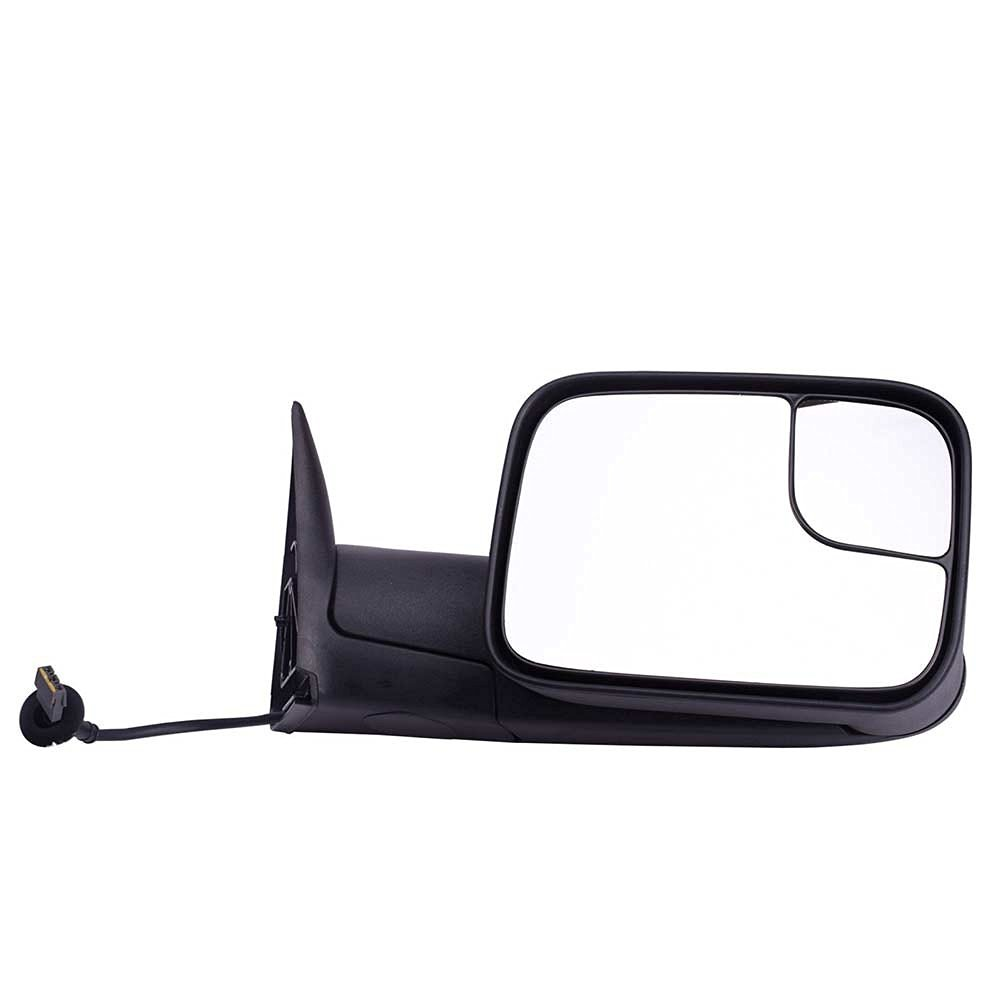 DEDC Dodge Towing Mirrors Dodge Ram Tow Mirrors Right Passenger Side Power Operation Manual Folding For 1994-1997 Dodge Ram 1500 2500 3500 Truck 1994 1995 1996 1997