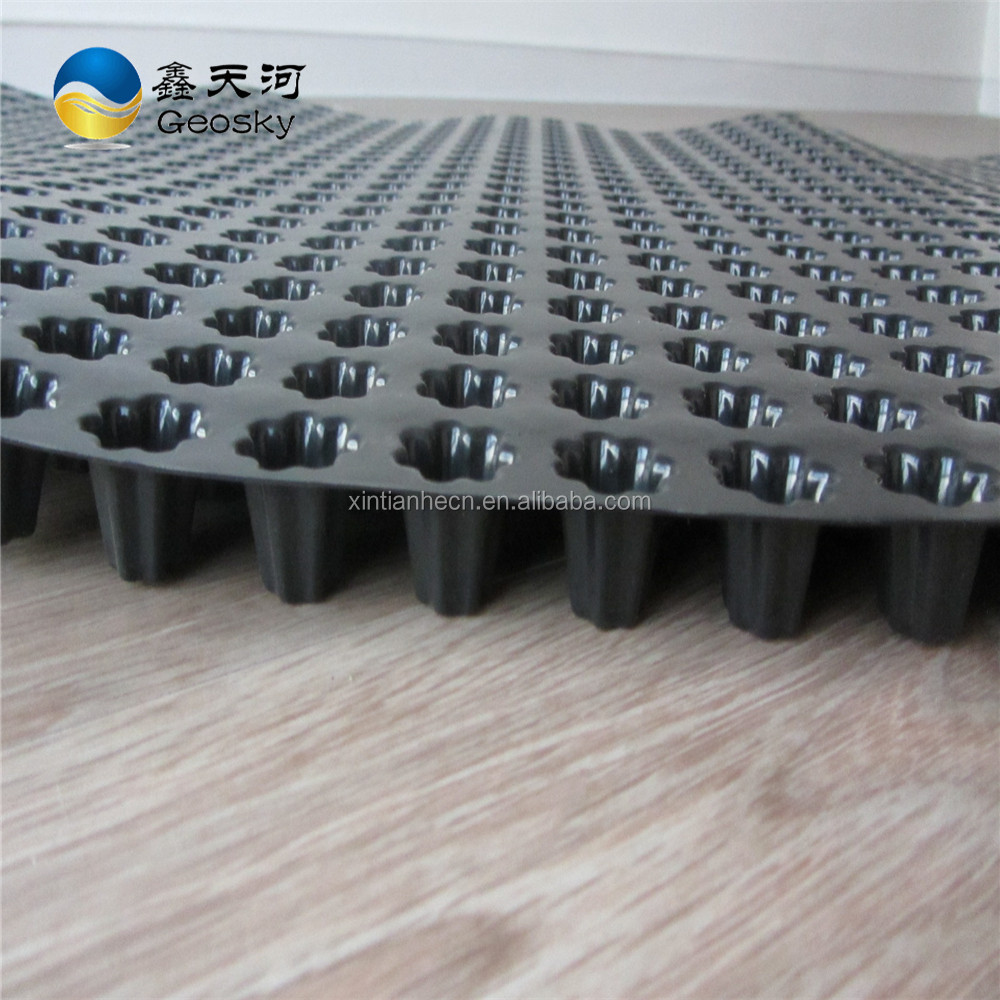 HDPE White Transparent Dimple Drainage Sheets Drain Board