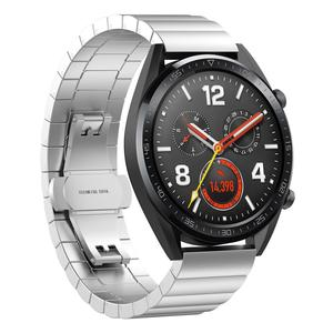 Tschick For Huawei Watch GT Band, 22mm Metal Stainless Steel Replacement Band Wristband for Huawei Magic/Watch GT/TicWatch Pro