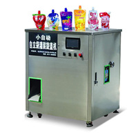 Cangzhou Factory Automatic Standing Pouch Capping Machine Drink Water Filling Machine For Juice