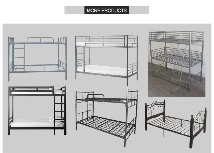 Factory Supplier Modern Appearance Metal Bunk Bed Cheap