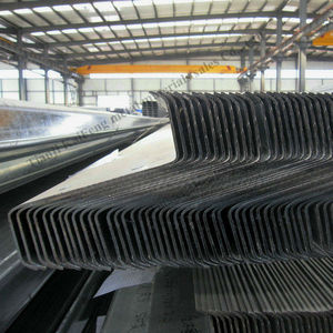 Q235 galvanized steel z steel channels for construciton rafters