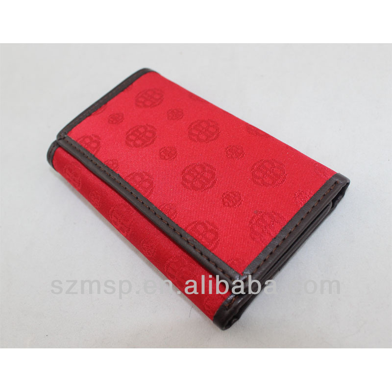 Chinfun print stain money wallet with key hook,coin woman wallet new year gift wallet