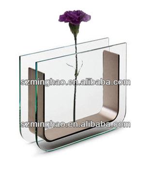 Fashion Design Acrylic Vase Acrylic Flower Vase Acrylic
