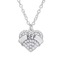 3fbd74221da Melhores Amigos Para Sempre Corações Charme Amizade BFF Colar de Fábrica ...