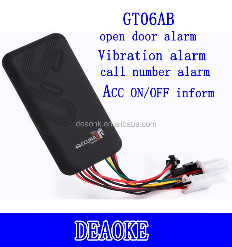 ACC Detection Smart Car Gps Tracker GT06 remotely engine stop function GT06N tk100