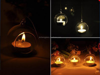 Hanging Glass Orb Candle Holders, Hanging Votive Candle Holders,Hanging Bubble Candle Holders