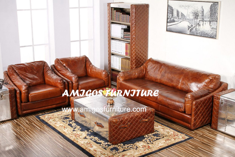 Studded Leather Furniture, Studded Leather Furniture Suppliers And  Manufacturers At Alibaba.com