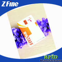 High Quality ID Tracking Smart Cards/Staff ID Cards with Customized Logo Printing