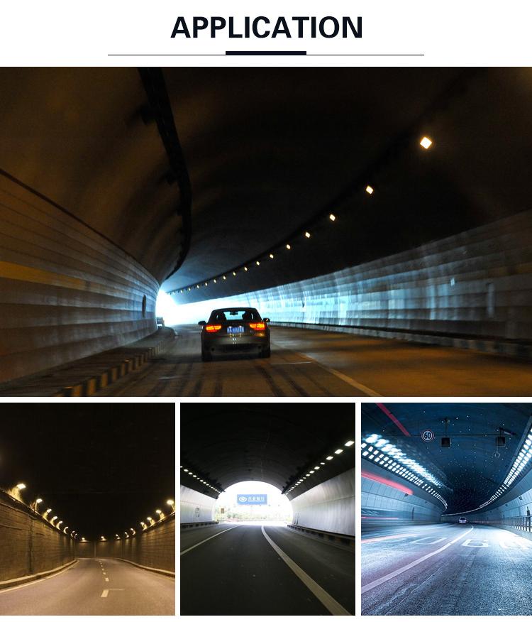 Sertifikasi CE SMD LED Chip IP68 120 W 200 W 250 W 300 W LED Tunnel Light