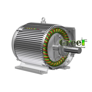2kW 30rpm low speed 220v permanent magnet alternator , easy maintenance magnet generator for wind power