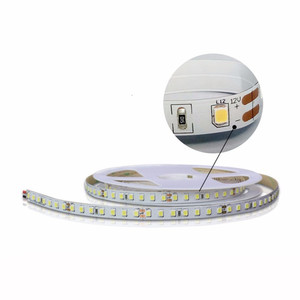 DC12V 24V solid color flexible strip 120leds 2835 SMD, warm white samsung led strip light