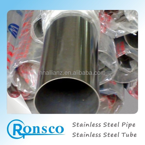 ASTM A 554 STS 201 304 polished stainless steel coiled tube handrail pipe welded round tube SS contruction tube