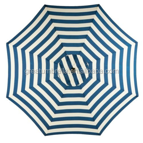 Unique 2016 custom black and white striped patio umbrellas