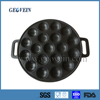 wholesale customized cast iron hot plate frying baking cookie pan grill grid cookware
