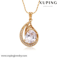 C201202-32193-Xuping Wholesale Charms Brass Pendant with 18K Gold Plated