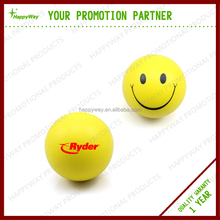 Pu Foam Anti stress Ball /smily Face Ball MOQ100 PCS 0101023