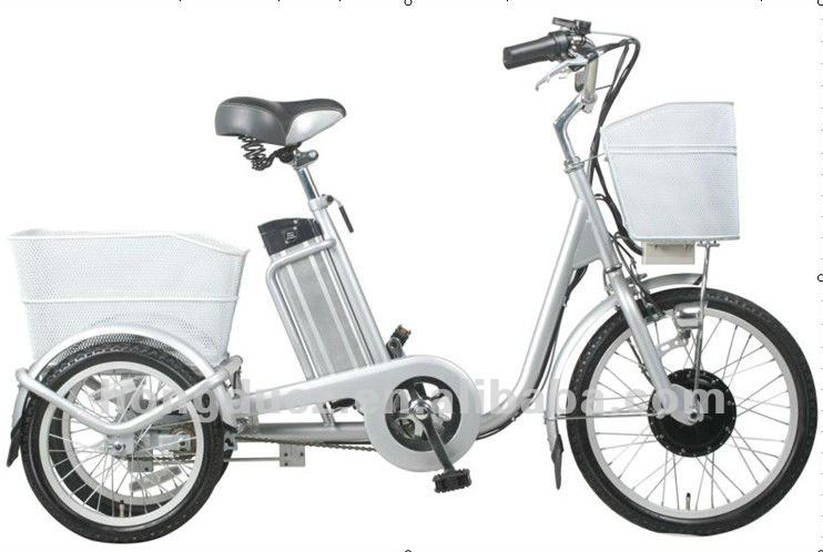 250W three wheel electric motor bike