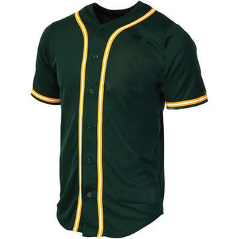 Custom Baseball Jersey Uniform Shirts Unisex Blank Atletische Slijtage Honkbal Jerseys Softbal Wear