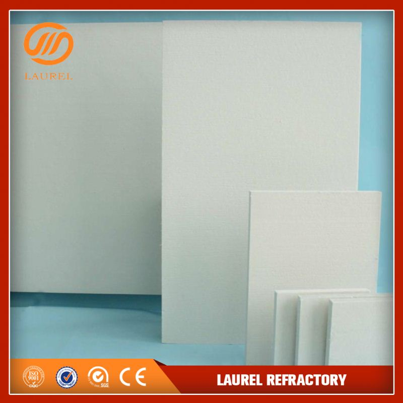 high temperature alumina thermal insulation refractory polished ceramic fiber board