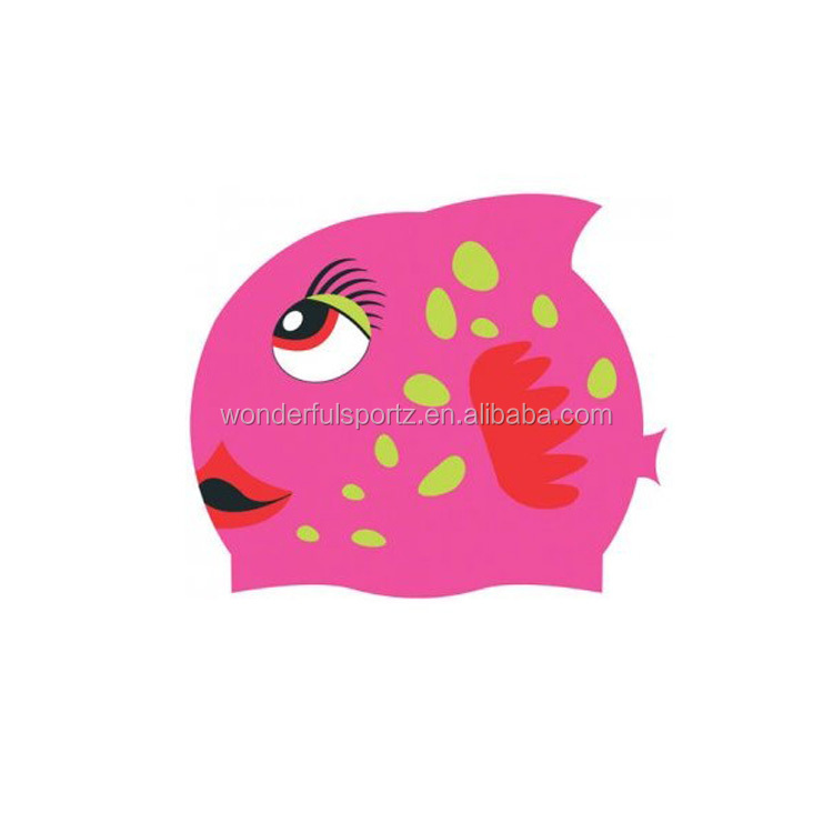 2014 Perfect Soft woman silicone swimming caps