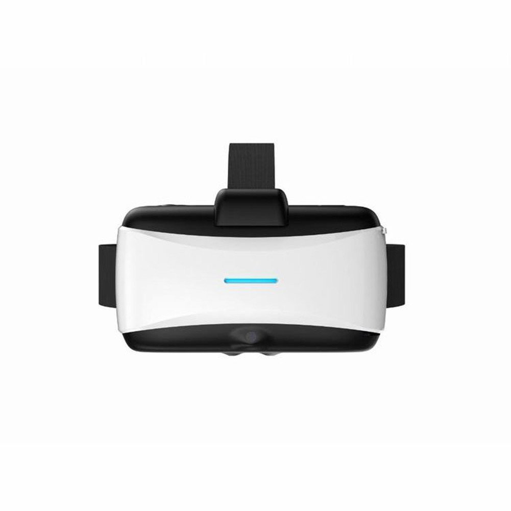 3d vr virtual reality glasses all in one vr case headset goggles box for virtual reality game system (Black)