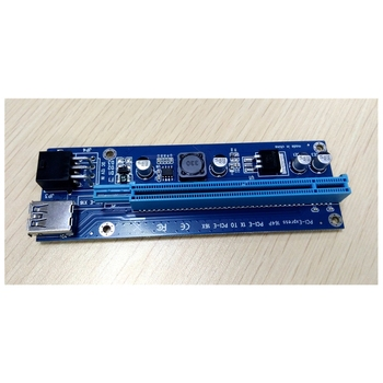 Bitcoin Miner Mini PCIe 1x to 3 PCI -E1x slots Expansion Card