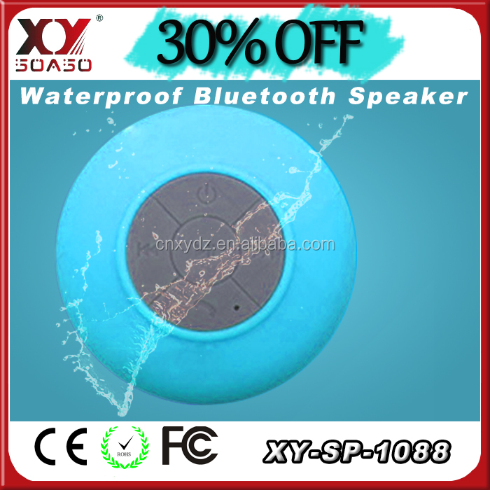 China Manufacture lowest price bluetooth dropshipping waterproof shower <strong>speaker</strong>