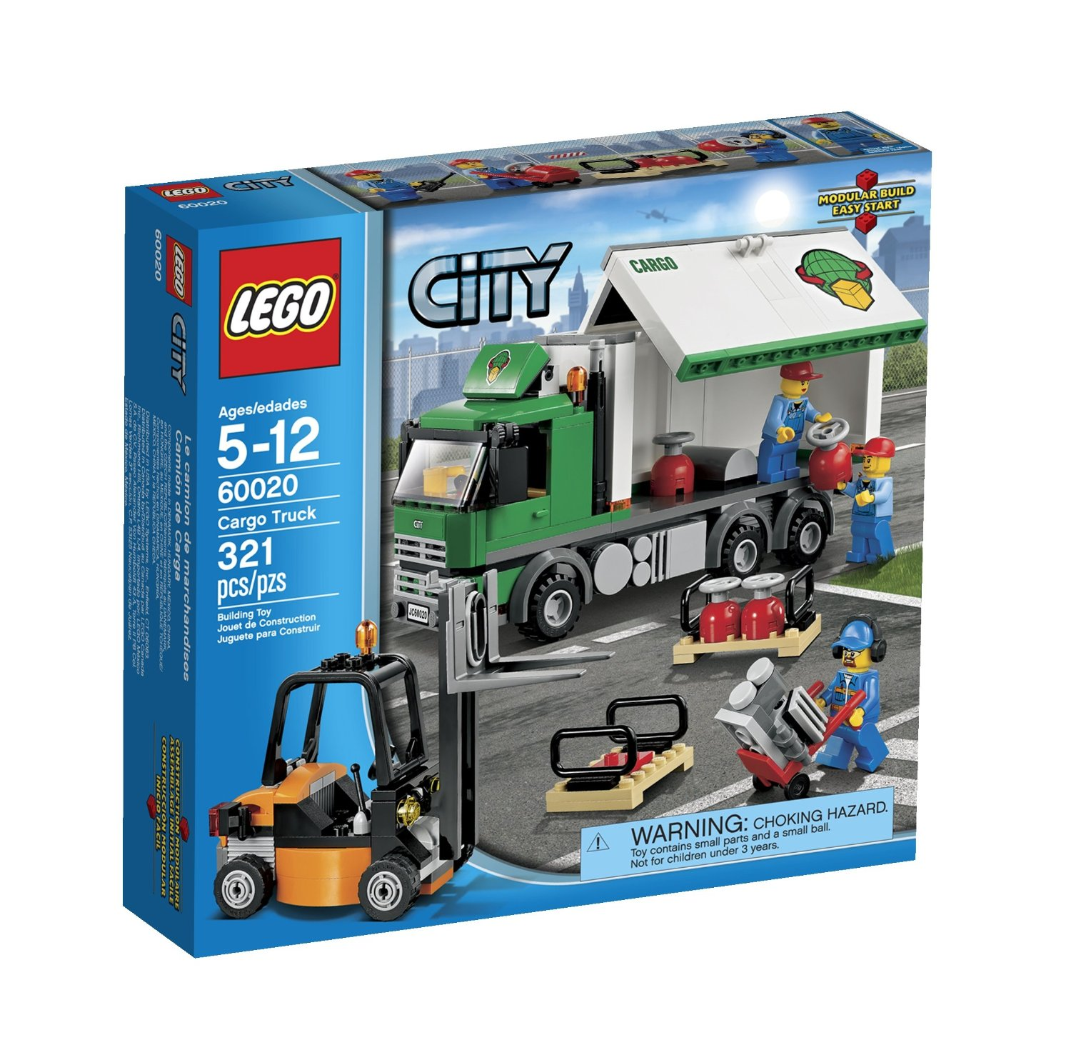 Buy Lego City 60020 Cargo Truck Toy Building Set In Cheap Price On