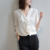 latest fashion design womens top 100% silk long sleeve blouse shirt