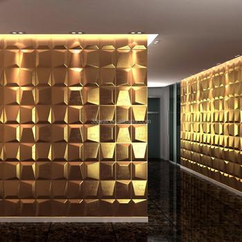 Bamboo wall cladding fiber 3d panel decorative wall panels for house interior & Bamboo Wall Cladding Fiber 3d Panel Decorative Wall Panels For ...