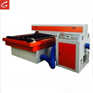 1218 150W double head die board laser cutting machine for christmas gift woodcrafts