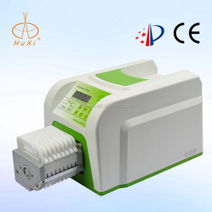 High Precision digital Flow Rate Peristaltic Tubing 5v eight channel Pump BT-100-8