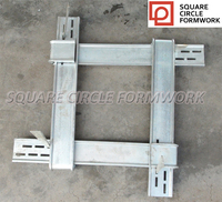 Q345B steel galvanized adjustable column formwork clamp