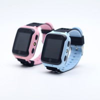 2018 Best sale real time location 2G Wifi GPS kids smart watch mobile phone with camera