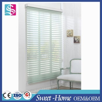 hot sale vertical shangri-la light filtering sheer shades blinds in hotel style