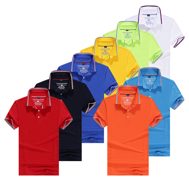 Custom Polo Shirt Printing Outdoor Wear
