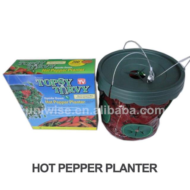 As Seen On Tv Upside Down Hot Pepper Planter,Hanging Hot Pepper Planter -  Buy Pepper Planter,Hanging Planter,Hot Pepper Planter Product on Alibaba com