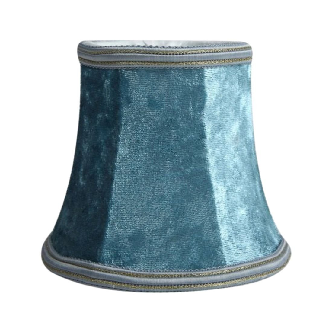 Get Quotations Toogoo R Fabric Clip On Lamp Shade E14 Handmade Lampshade For Modern European
