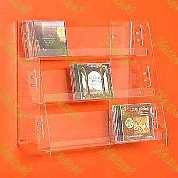 Fashionable Acrylic Wallmounted Magazine Rack Buy Acrylic Best Orange Magazine Holder