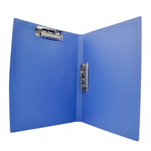 A1/A2/A3/A4 size pp plastic hard cover spring file folder fastener for interview