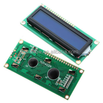 LCD1602 LCD 1602 Tela Azul com Backlight Display LCD 1602A-5v para Uno