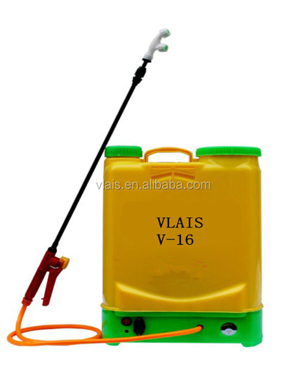 Vlais 16L battery sprayer,agriculture rechargeable electric sprayer,battery sprayer for farmer use
