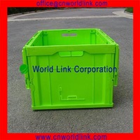 65L Packaging Collapse Plastic Storage Containers With Lid