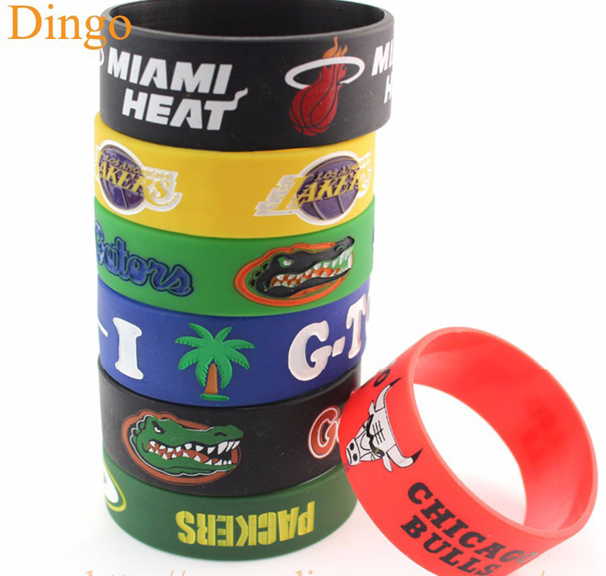 New fashion design oval shape customized silicone bracelet, cheap silicone wristbands,rubber bracelet for events фото