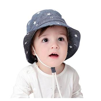 Unisex Baby Toddler Kids Custom Sun Cap Hat Bucket with Drawstring Adjust 3ff5f260931