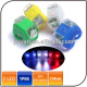 Super Bright Waterproof 2032 Battery Gel Tail Light 2 led Mini Bike Led Silicone Lamp