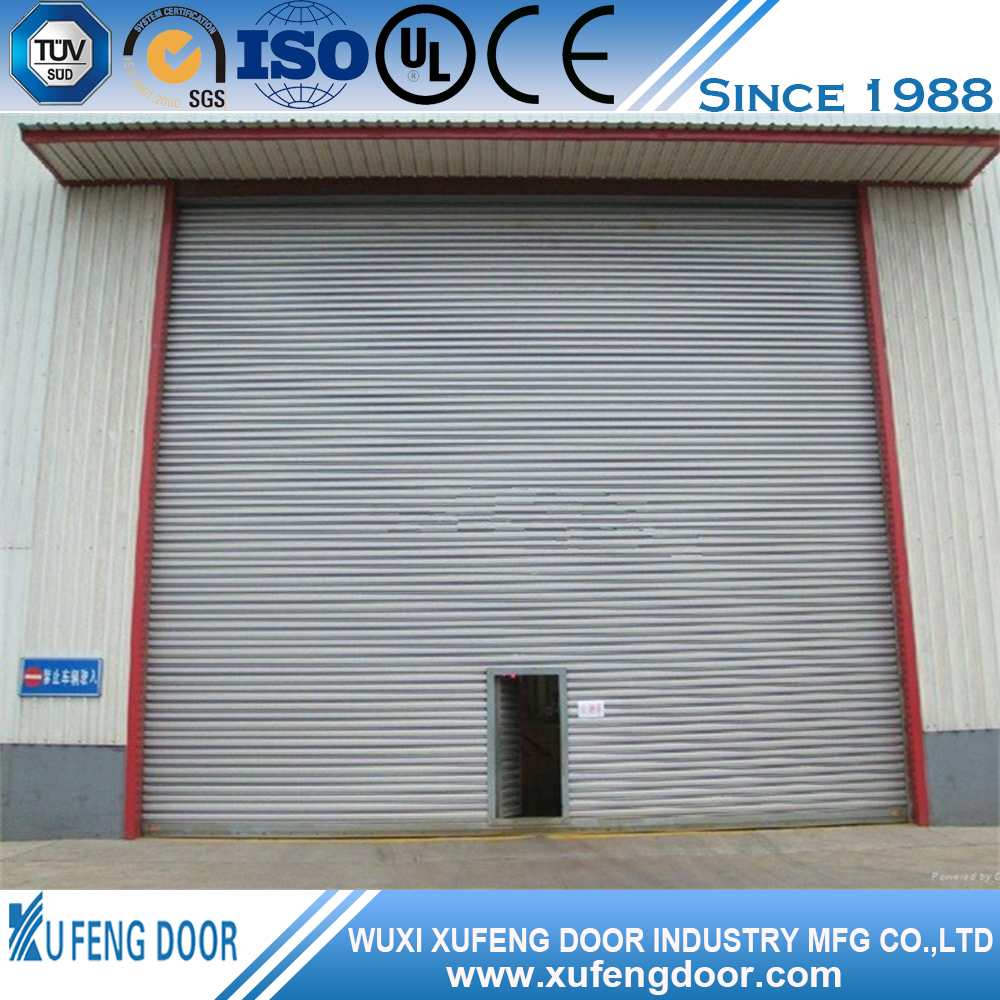 Professional Electric Remote Roll Up Garage Door