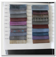 fashionable 100 polyester taffeta dobby fabric for suit lining